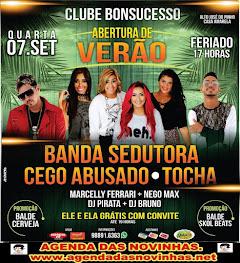 CLUBE BONSUCESSO ABERTURA DE VERÃO.