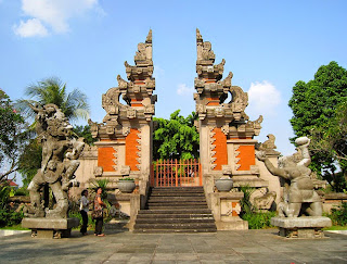 Gapura Candi Bentar - Traditional Houses of Bali