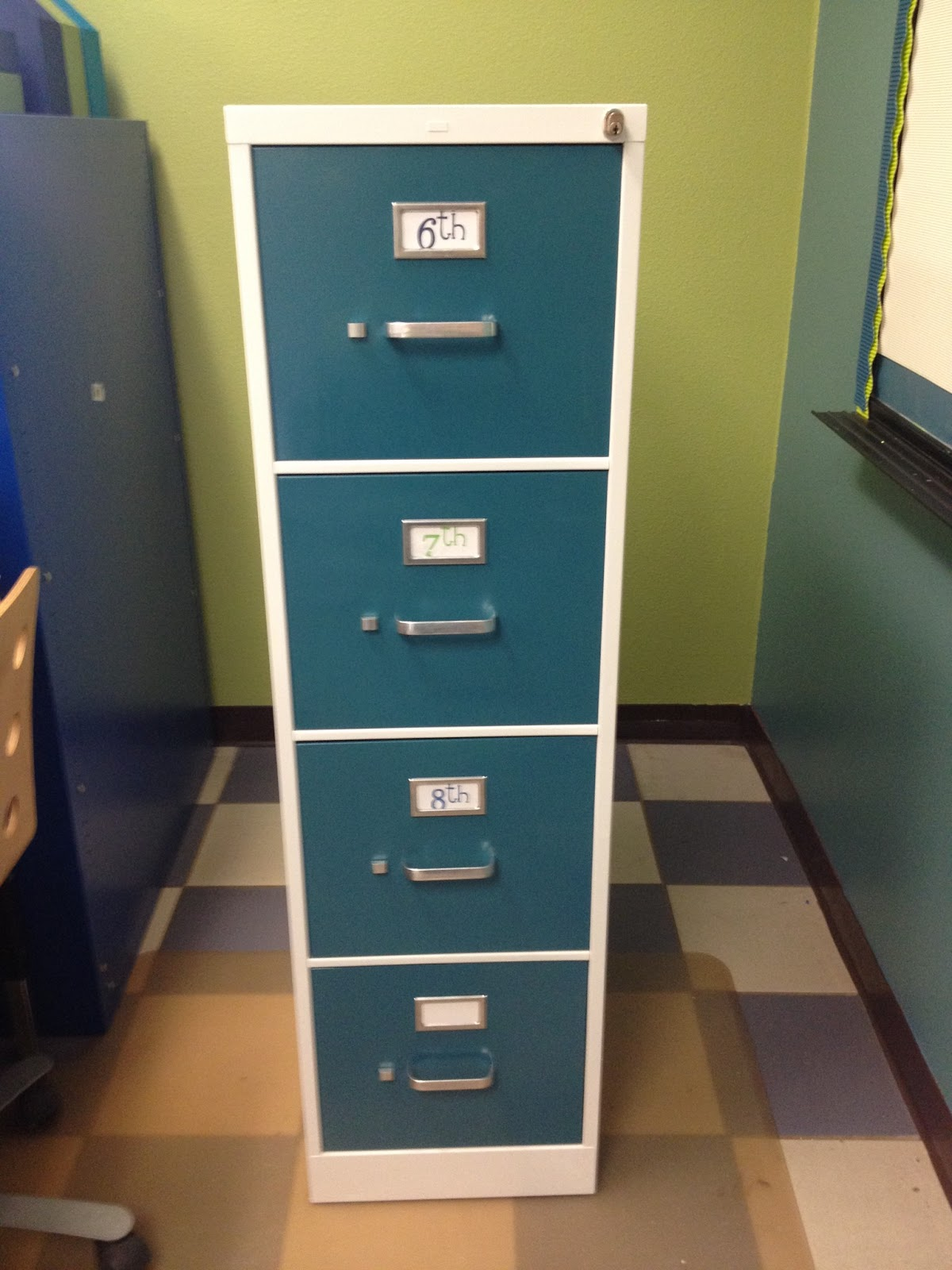 Nice Check Out My Post Today On DIY Classroom For How To Makeover An Ugly File  Cabinet Into One That Matches Your Room Decor And Brightens Your Space And  Your ...