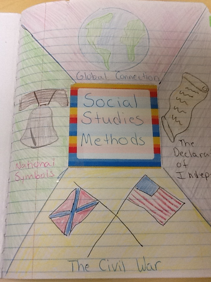cover page for social studies notebook
