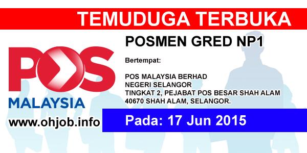 Jawatan Kerja Kosong Pos Malaysia logo www.ohjob.info jun 2015