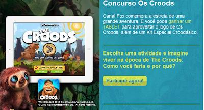 "Concurso Cultural  ""Os Croods"""