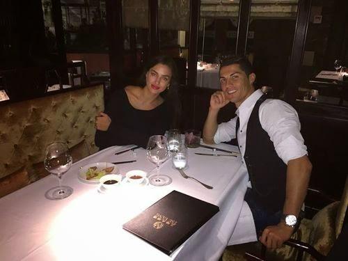 Totally In love! Cristiano Ronaldo happy with Irina