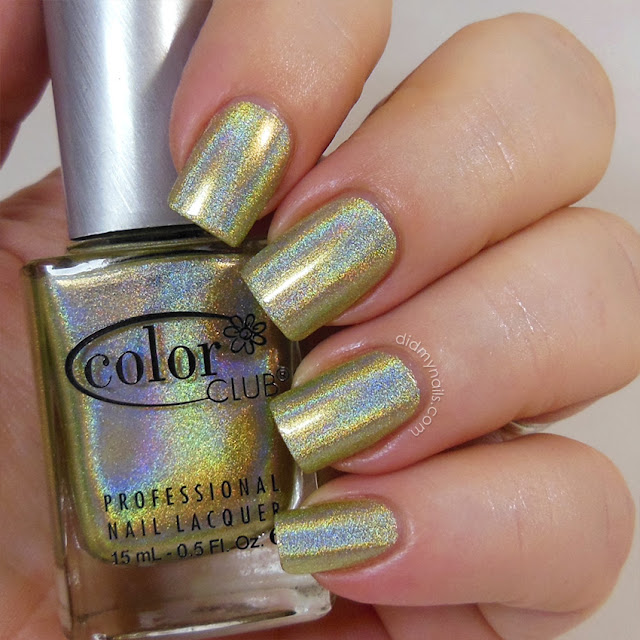 Color Club Kismet swatch
