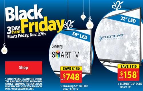 Walmart Black Friday 3 Day Event