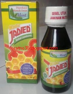 "<img src=""http://3.bp.blogspot.com/-iH2TgodcaFk/UJwo2JjswNI/AAAAAAAAATA/eL208ngz3Hw/s320/Madu+Jadied+Lambung_38.JPG"" alt=""jual madu Jadied sehat lambung"">"