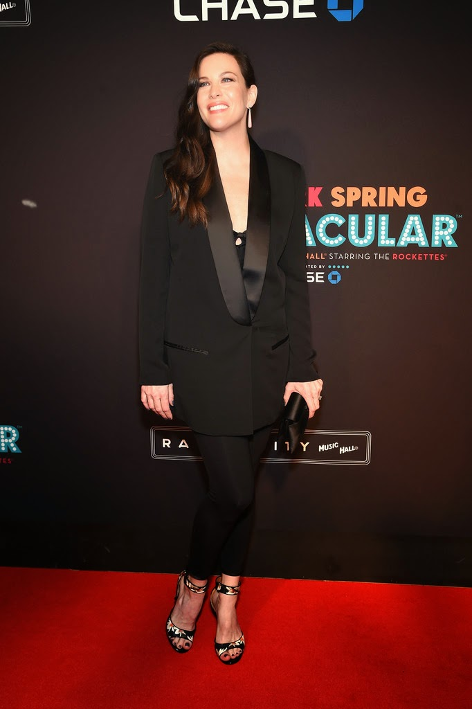Actress @ Liv Tyler - New York Spring Spectacular at Radio City Music Hall