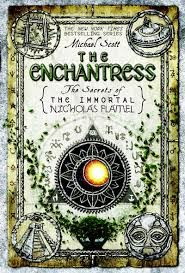 Book cover: The Enchantress, book 6 in The Secrets of the Immortal Nicholas Flamel by Michael Scott
