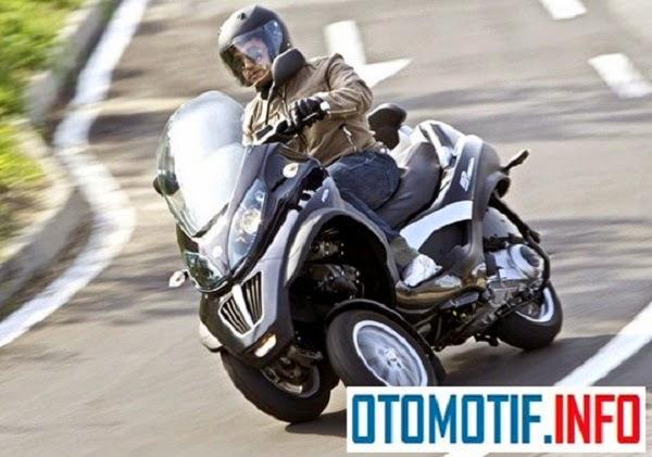 Perusahaan Piaggio Tuntut Peugeot dan Yamaha Mengenai Hak Paten Motor Roda Tiga