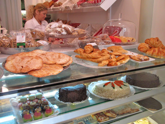 delicacies at Maria's Bakery