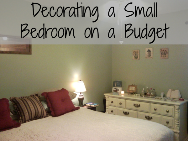 Apartment bedroom decorating ideas on a budget 5 small for Want to decorate my bedroom