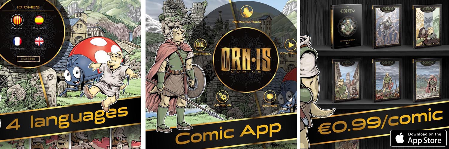 Orn·is Comics App