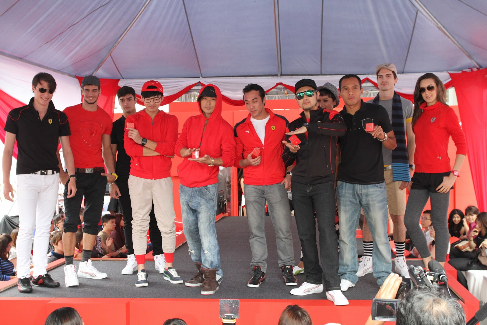 Frigglive  Puma Motorsports Launch