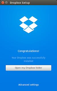 Dropbox ubuntu 15.04