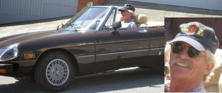 Tim and his 1979 Spider Veloce, in 2012