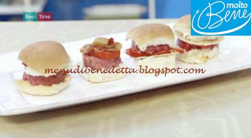 Hamburger di cotechino ricetta Parodi per Molto Bene