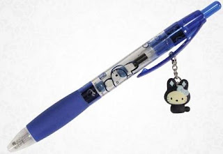 Hello Kitty blue bunny ballpoint pen for school