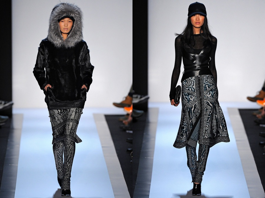 Asian models blog new york fashion week fall winter 2013 for Koch xiao wang
