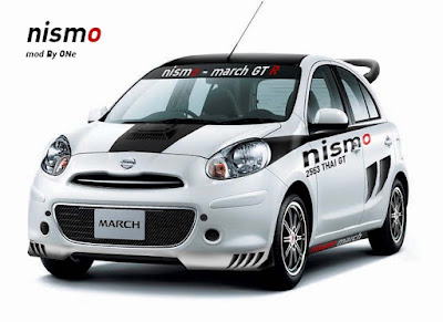 Foto Modifikasi Nissan March Terbaru