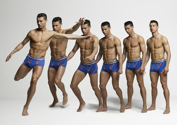 ropa interior Cristiano Ronaldo nueva colección CR7 underwear