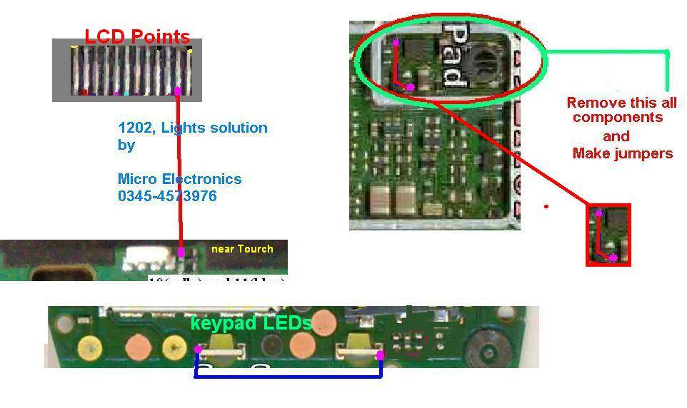 1202 Lcd Lights Without Any Parts  New