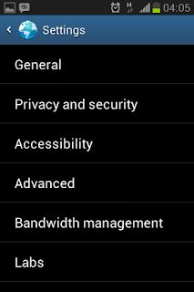 Membersihkan data history pada mobile browser bawaan Android 2