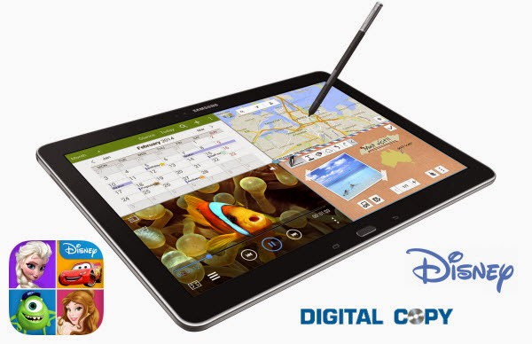 transfer Disney Digital Copies to Galaxy Note Pro