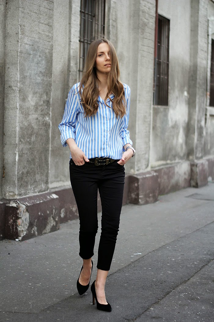 Fashion and style striped shirt Fashion and style vanja