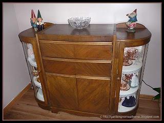 my Knetchtels vintage china cabinet
