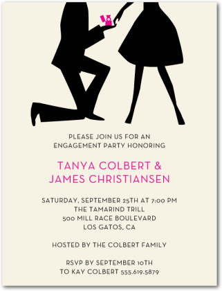Sonho de me casar frases para convite de noivado for Online engagement party invitations