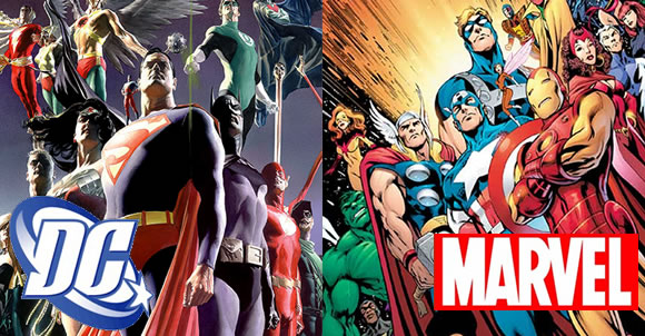 senior media thesis marvel vs dc comics