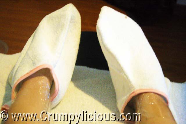 nuat thai tomas morato foot paraffin