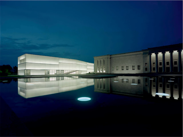 Nelson atkins museum of art by steven holl architects for Pool design kansas city