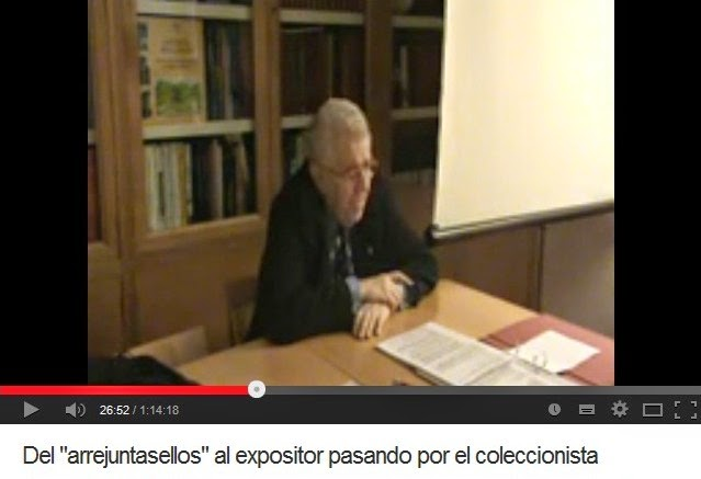 DEL ARREJUNTASELLOS AL EXPOSITOR PASANDO POR EL COLECCIONISTA (FERNANDO ARANAZ)
