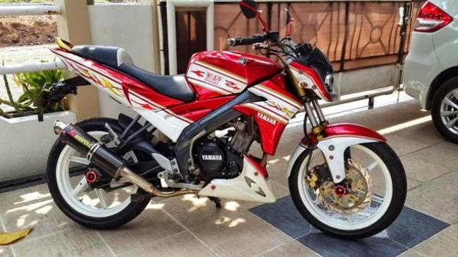 Foto Yamaha Vixion Modifikasi Touring