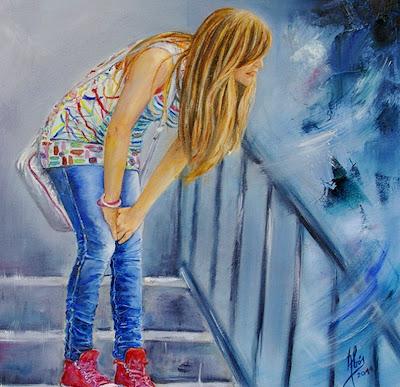 arte figura humana pintura figurativa al óleo sobre lienzo figura