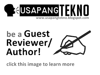 BE A GUEST REVIEWER/AUTHOR