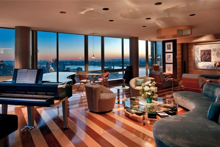 New york city luxury manhattan penthouses the gartner for New york penthouses for sale