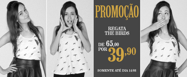 Loja 365 Filmes - Regata The Birds