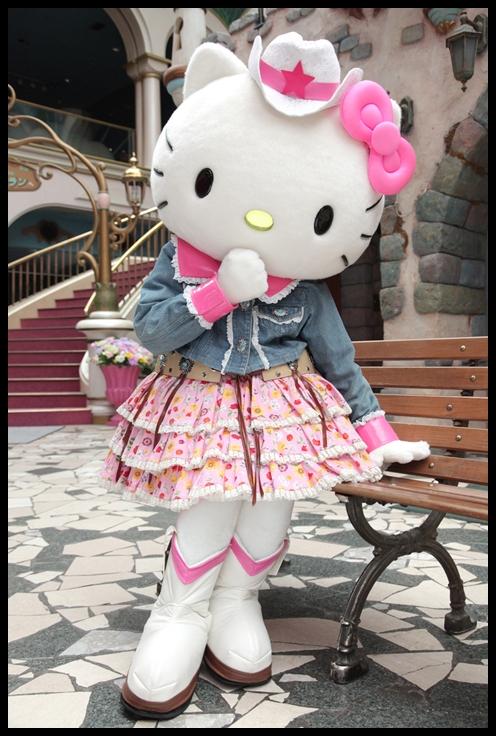 dipahamkan Bandar Hello kitty nih menjadi kediaman pertama Hello Kitty