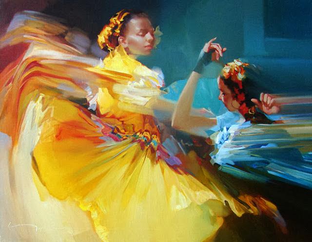 Pintura russa de Alexey Alexandrovich