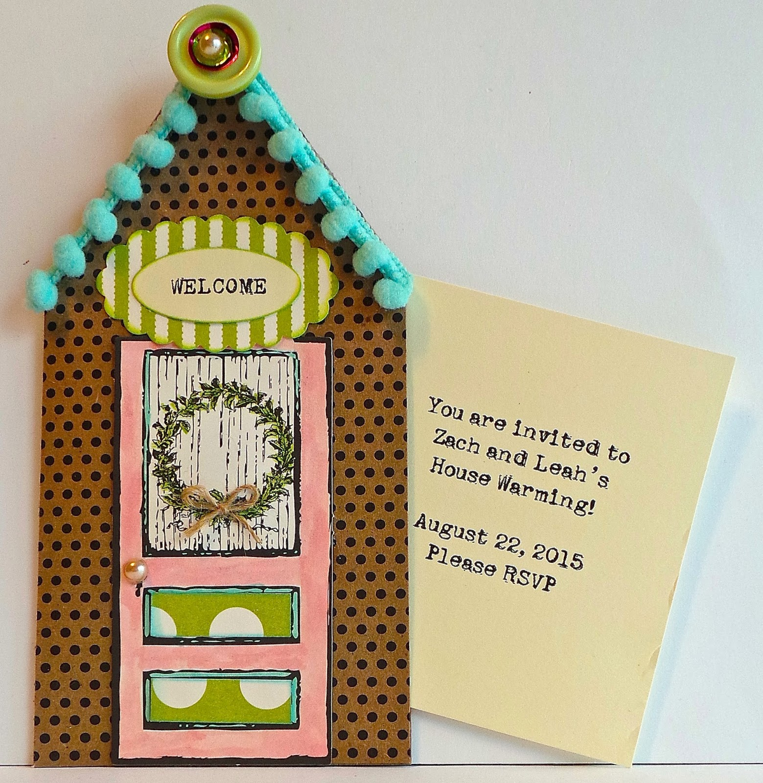 Creative Addiction To Paper House Warming Invitations