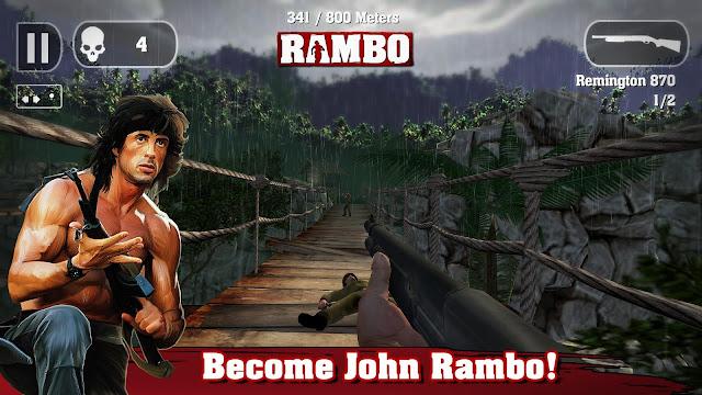 Game Rambo v1.0 MOD APK (Unlimited Ammo / No Damage)