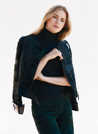 Brit Marling InStyle Magazine October 2015 Photo Shoot