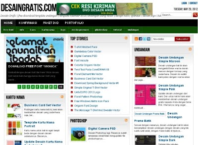 Artikel Desain Grafis on Desaingratis Com Solusi Desain Grafis Online   Maret 2013   Lebahndut