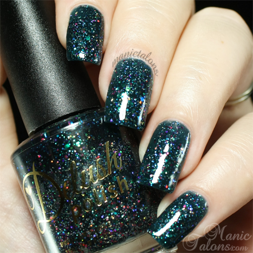 Delush Polish Dark Passenger Swatch