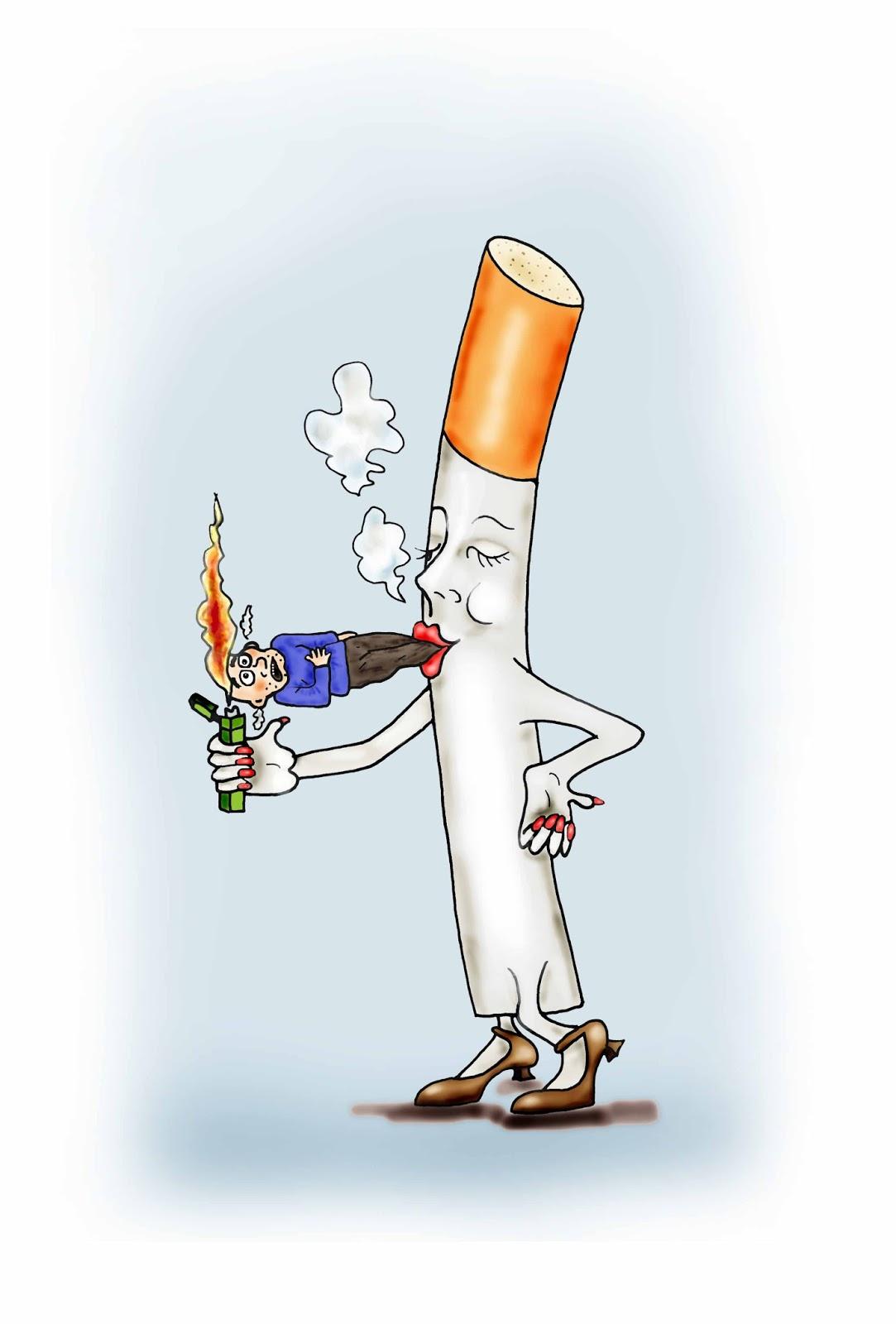Come smettere di fumare secondo il libro di americano