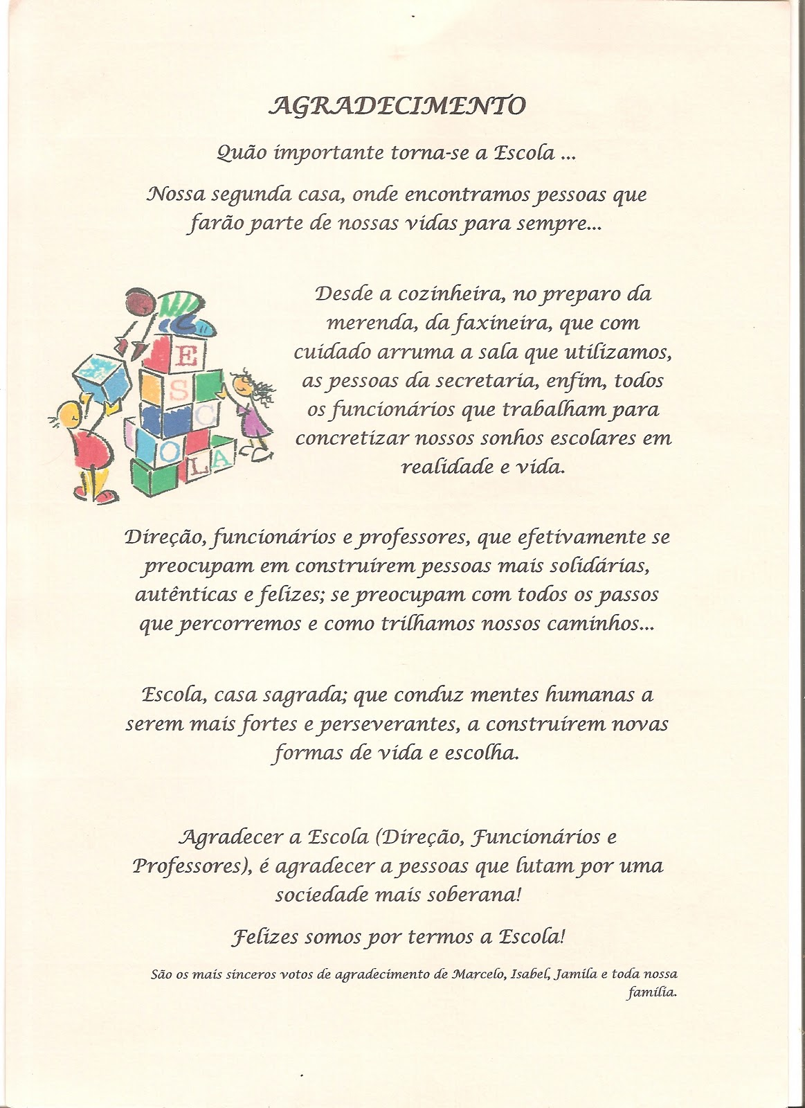Frases de Agradecimento Profissional | Bilibio
