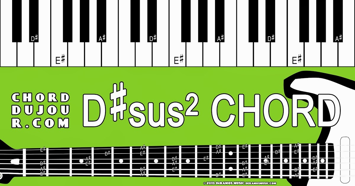Chord Du Jour Dictionary Dsus2 Chord