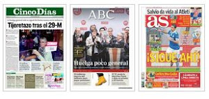 PORTADAS PERIDICOS